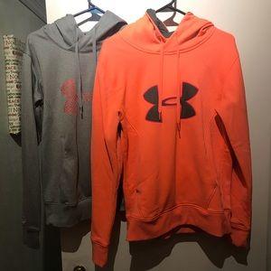 Tops - Under armor hoodie bundle !